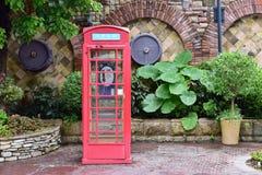 Cabina de teléfono Imagenes de archivo