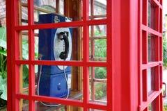 Cabina de teléfono Imagen de archivo libre de regalías