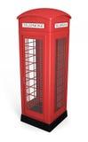 Cabina de teléfono británica Fotos de archivo