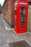 Cabina de teléfono británica Fotografía de archivo libre de regalías