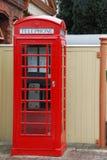 Cabina de teléfono británica Foto de archivo