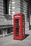 Cabina de teléfono británica Imagenes de archivo