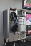 Cabina de teléfono de la paga Fotografía de archivo libre de regalías