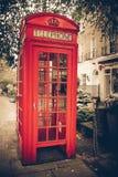 Cabina de teléfono de Londres Fotos de archivo