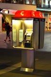 Cabina de teléfono de Telstra Fotos de archivo