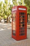 Cabina de teléfono del vintage Fotografía de archivo libre de regalías