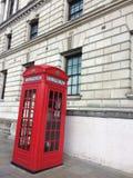 Cabina de teléfono de London's imágenes de archivo libres de regalías
