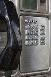 Cabina de teléfono vieja Imagen de archivo
