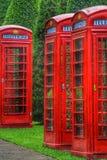 Cabina de teléfonos Fotos de archivo