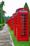 Cabina de teléfonos Imagenes de archivo