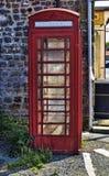 Cabina de teléfonos británica Foto de archivo libre de regalías