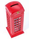 Cabina de teléfonos británica. Foto de archivo libre de regalías