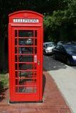 Cabina de teléfonos británica Fotografía de archivo libre de regalías