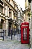 Cabina de teléfonos en Londres Fotos de archivo