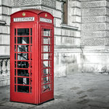 Cabina de teléfonos en Londres Fotografía de archivo