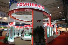 Cabina de Toshiba Imagenes de archivo