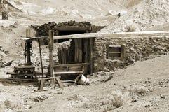 Cabina dei minatori Fotografie Stock Libere da Diritti