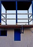 Cabina del bagnino in costa spagnola Fotografia Stock Libera da Diritti