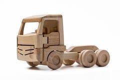 Cabina del camión de madera del juguete sin el remolque Imágenes de archivo libres de regalías