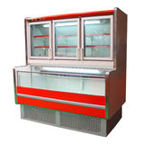Cabina del congelador imagen de archivo
