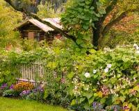 Cabina del giardino Immagine Stock