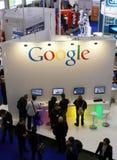 Cabina del Google fotografie stock libere da diritti
