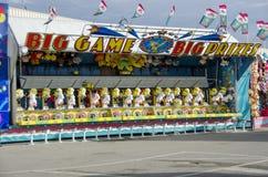 Cabina del juego en la feria Foto de archivo