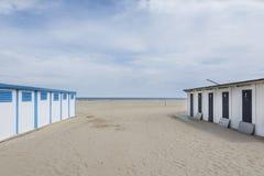 Cabina del mare di Rimini Immagine Stock