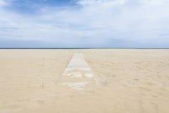 Cabina del mare di Rimini Fotografia Stock