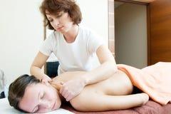 Cabina del masaje Imagenes de archivo