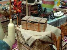 Cabina del mercado Imagen de archivo libre de regalías