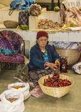Cabina del mercado, thimpu Fotos de archivo libres de regalías