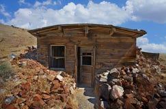 Cabina del minero Fotos de archivo