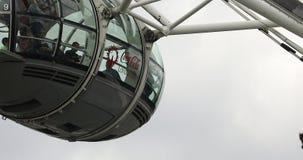 Cabina del ojo de Londres metrajes
