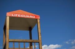 Cabina del salvavidas Fotos de archivo