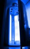 Cabina del solarium Fotografia Stock
