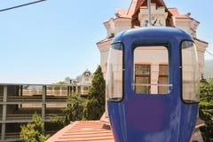 Cabina del teleférico Foto de archivo
