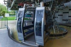 Cabina del teleférico Imágenes de archivo libres de regalías