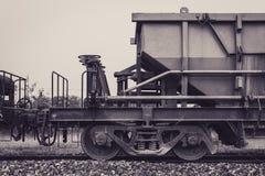 Cabina del tren del vintage foto de archivo libre de regalías
