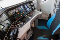 Cabina del treno della metropolitana Fotografie Stock Libere da Diritti