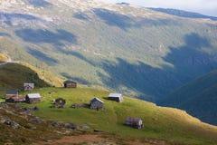 Cabina della montagna Fotografie Stock Libere da Diritti