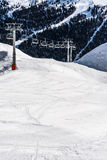 Cabina della montagna alle alpi di Solda, Italia II Fotografia Stock