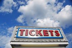Cabina di biglietti Fotografie Stock