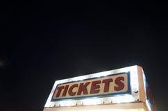 Cabina di biglietti Fotografia Stock