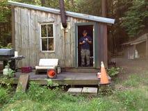 Cabina di caccia Fotografia Stock Libera da Diritti