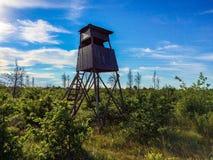 Cabina di caccia Fotografie Stock