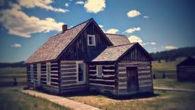 Cabina di Colorado Fotografia Stock Libera da Diritti