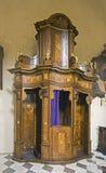 Cabina di confessione Fotografia Stock