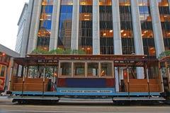 Cabina di funivia di San Francisco Fotografia Stock