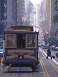 Cabina di funivia di San Francisco Fotografia Stock Libera da Diritti
